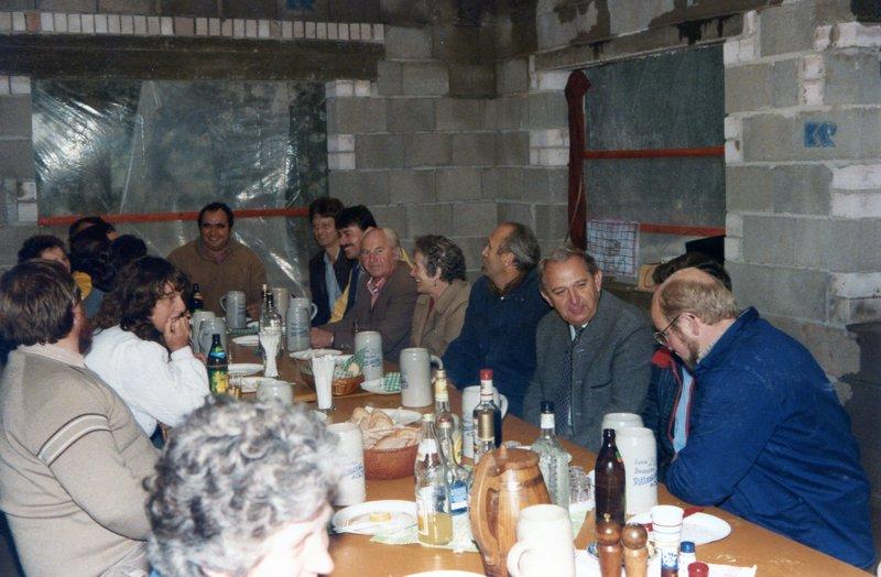 1984 - Einweihung Siedlerheim 02
