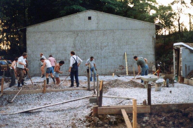 1984 - Errichtung Siedlerheim 02